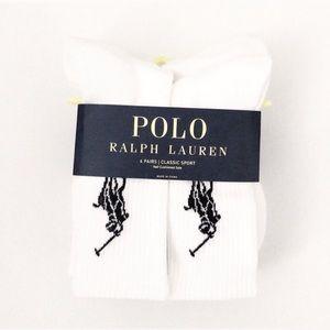 Ralph Lauren crew socks